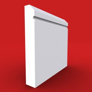 Edge C Grooved Skirting board