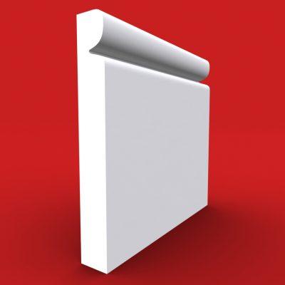 Reveal skirting board